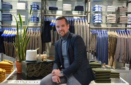 Interview Woerden storemanager Only for Men Michel Boonstra