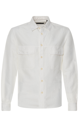 terras outfit wit overshirt drykorn